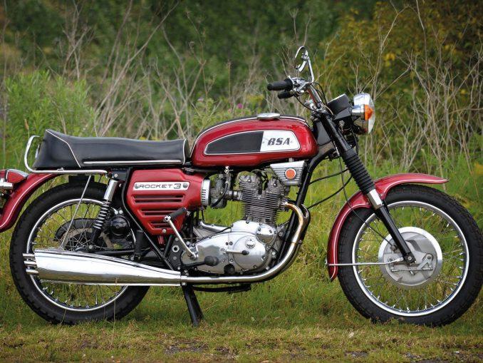 1969 BSA Trident Rocket 3   Bsa motorcycle, Classic