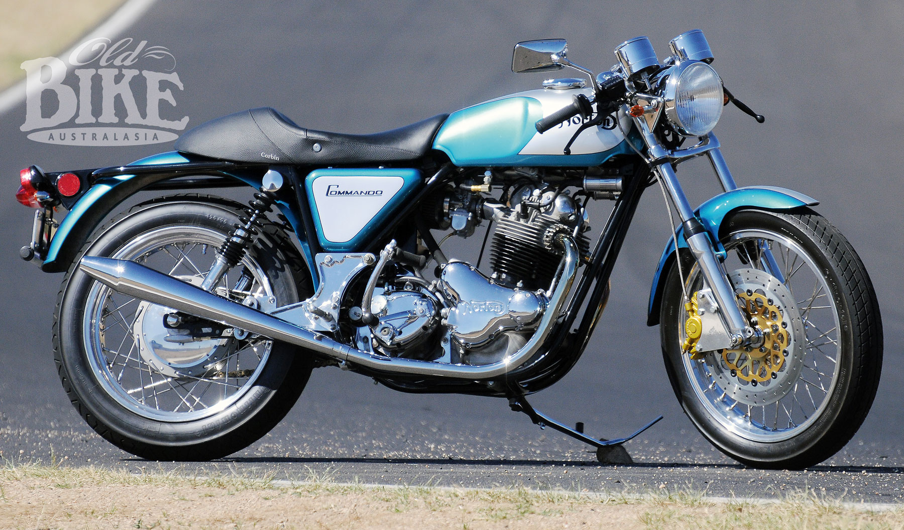 norton commando taking command old bike australasia