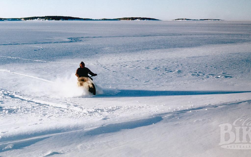 Velocettes in Antarctica