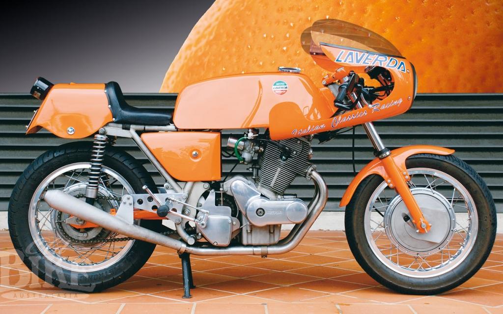 1972 Laverda 750 SFC – Tangerine dream
