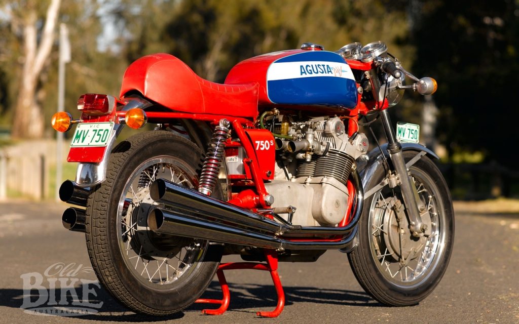 MV Agusta 750S: Appointment with royalty