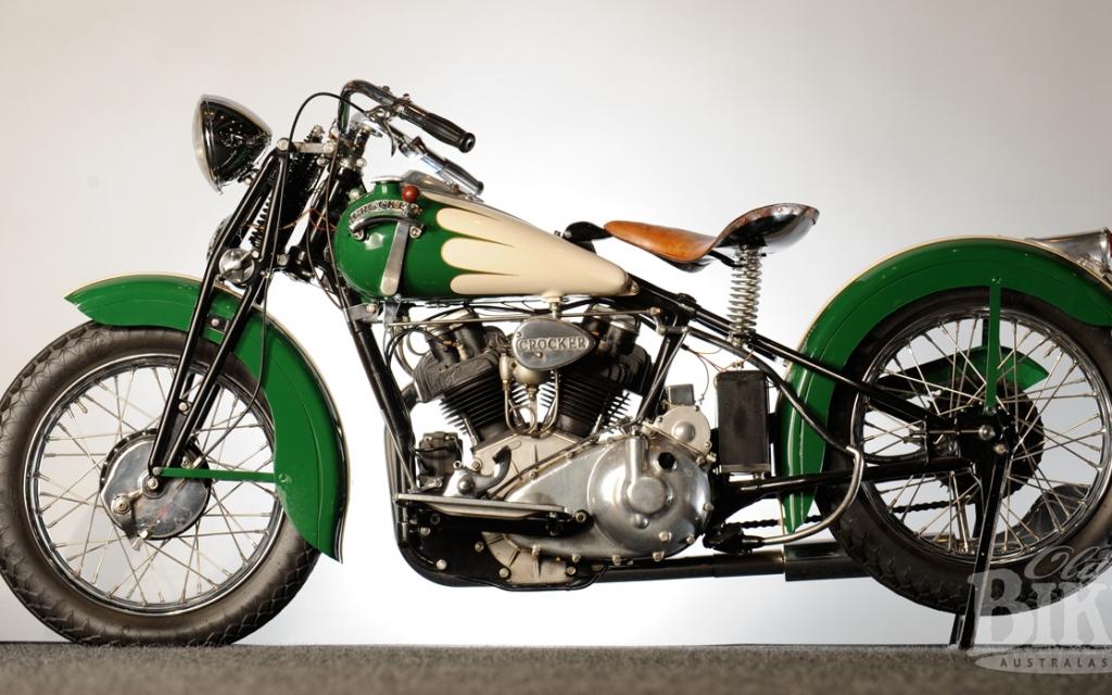 Crocker Jack's Splendid Ride: A Boozefighters 1939 Big Tank Crocker V-twin