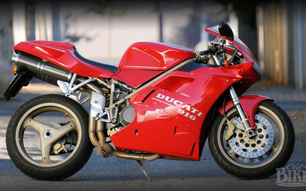 Ducati 916: Tamburini's masterpiece – Ducati's saviour