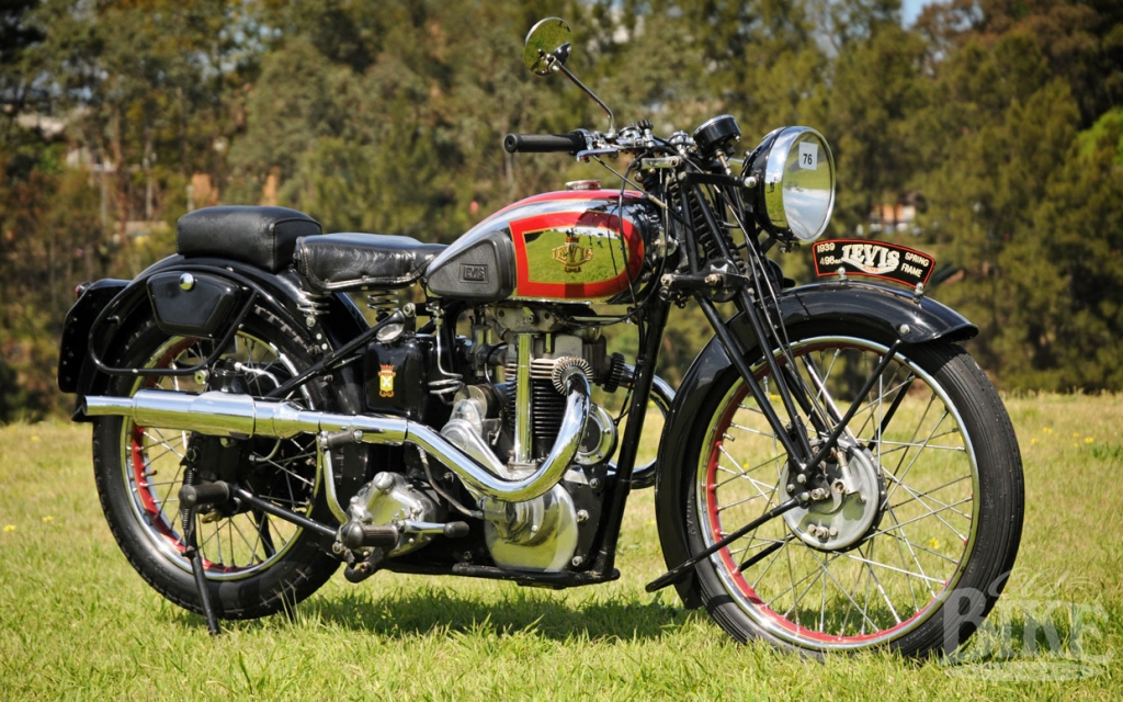 The spring-frame 500cc Levis – What might have been