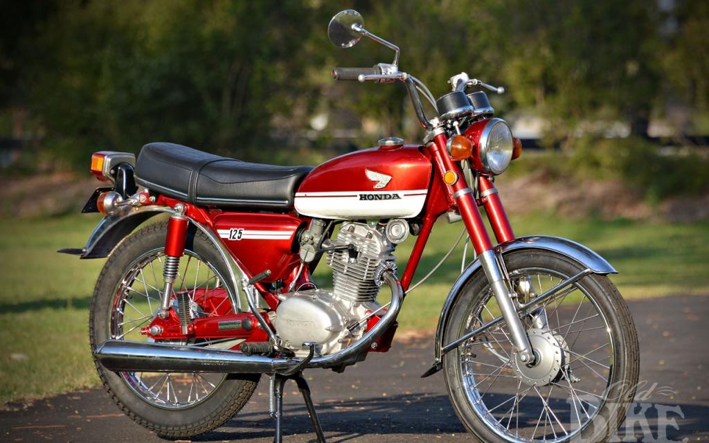 1971 Honda CB125S– Little ripper