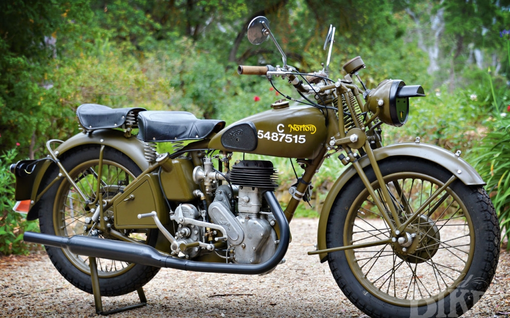 Norton 16H – What did you do in the war, dad?