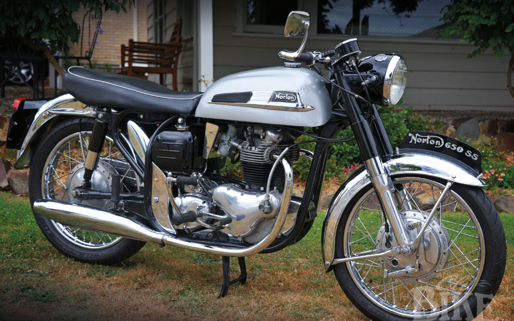 Norton 650SS: Norton's top twin?