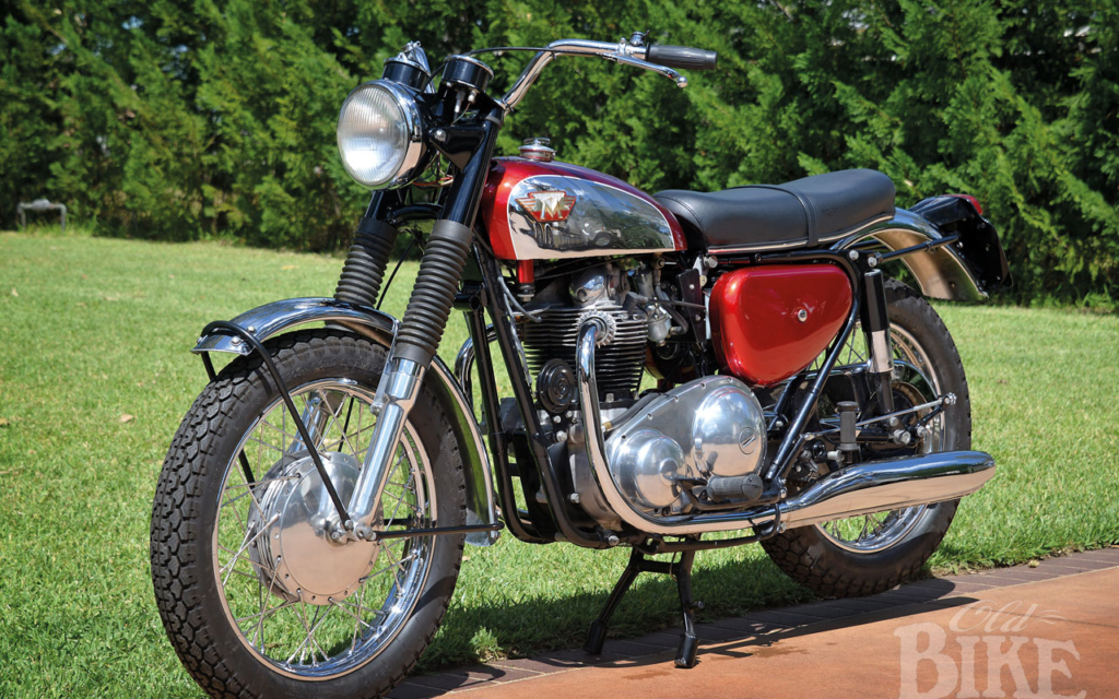 1967 Matchless G15CSR: Late comer