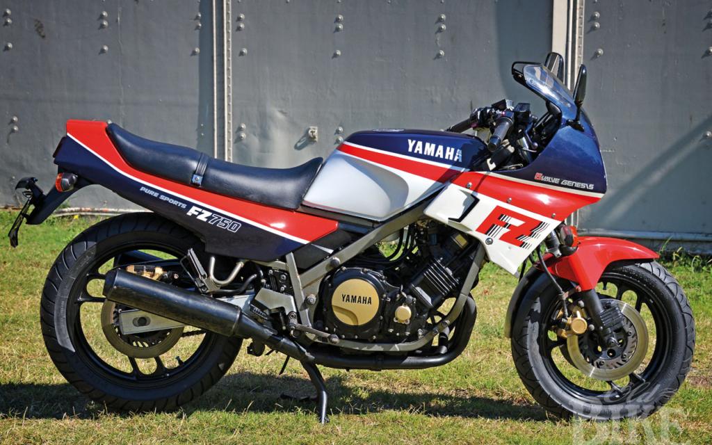 Yamaha FZ750: Five valve wonder