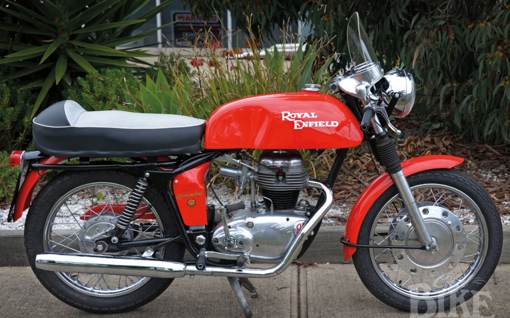 """1964 Royal Enfield Continental GT: """"Britain's fastest 250"""""""
